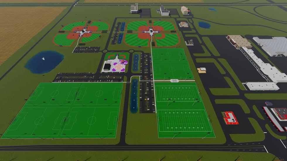 3D Rantoul Sports Complex